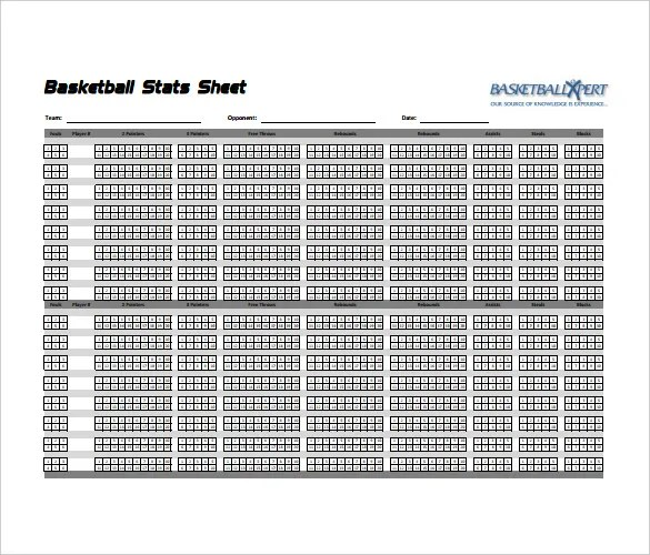 printable football stat sheet - Klisethegreaterchurch - baseball stats sheet template