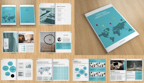 Annual Report Template - 46+ Free Word, Excel, PDF, PPT, PSD