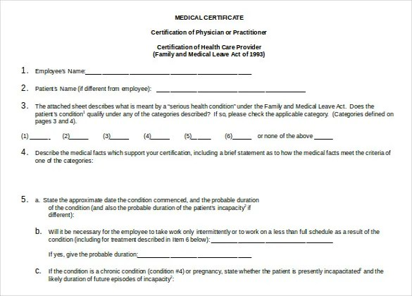 27+ Doctor Certificate Templates - PDF, DOC Free  Premium Templates - Certification Document Template