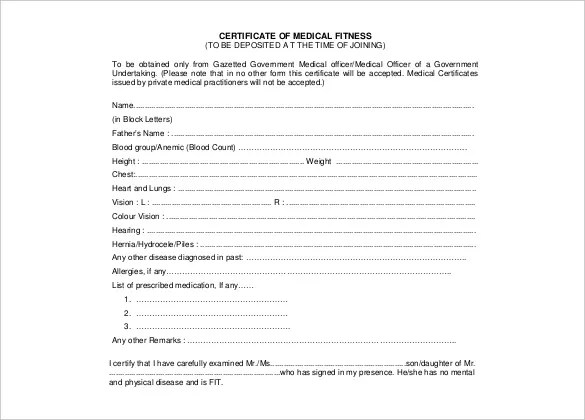 27+ Doctor Certificate Templates - PDF, DOC Free  Premium Templates - medical certificate download