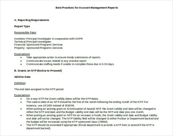 best report format template - Goalgoodwinmetals