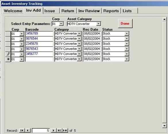 Access Inventory Template u2013 8+ Free Access Documents Download - inventory management template