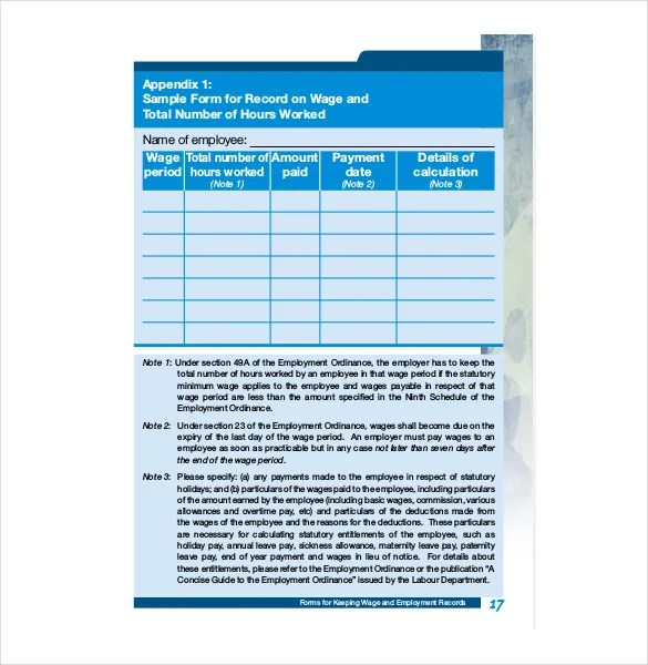 Employee Record Templates - 26+ Free Word, PDF Documents Download
