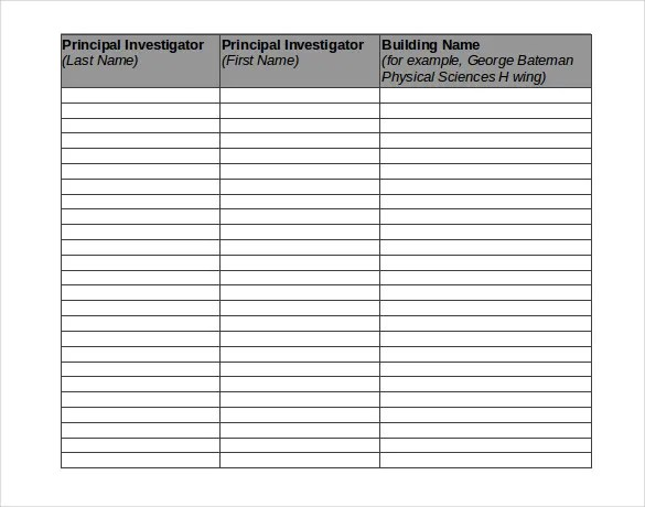 Chemical Inventory Template u2013 12+ Free Word, Excel Documents - inventory sheets template