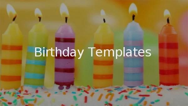 Birthday Template \u2013 351+ Free Word, PDF, PSD, EPS, Ai Vector
