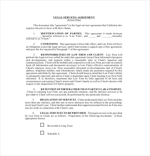 20+ Service Agreement Templates \u2013 Word, PDF Free  Premium Templates