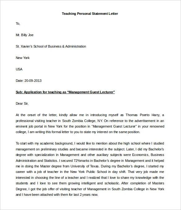 40+ Personal Letter Templates - PDF, DOC Free  Premium Templates - Personal Business Letter Example