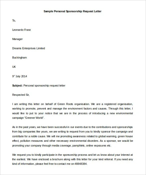 Personal Letter Template - 39+ Free Sample, Example Format Free - letter writing template
