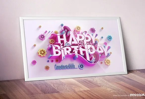 21+ Birthday Card Templates \u2013 Free Sample, Example, Format Download - Birthday Card Sample