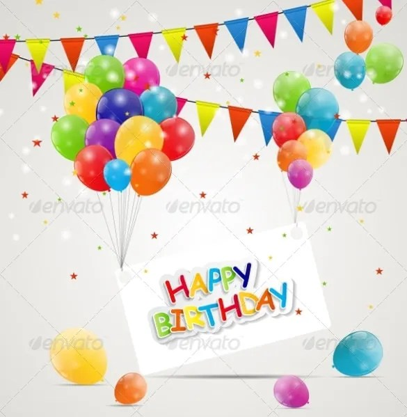 21+ Birthday Card Templates \u2013 Free Sample, Example, Format Download