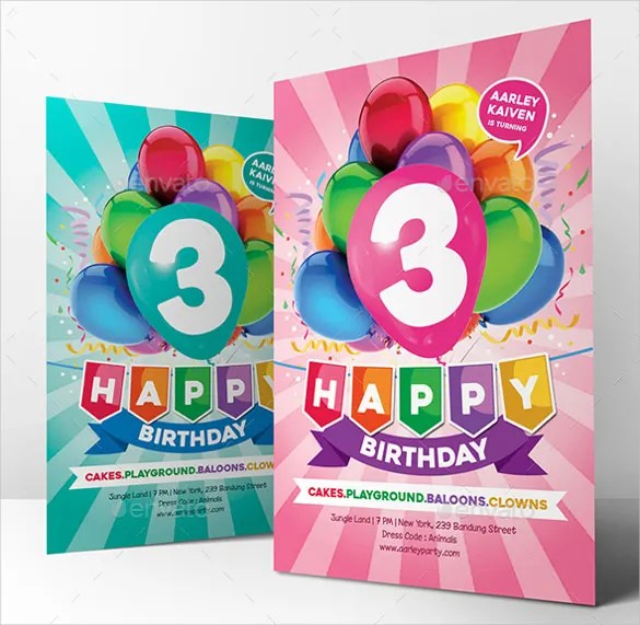29+ Birthday Invitation Templates - Free Sample, Example, Format