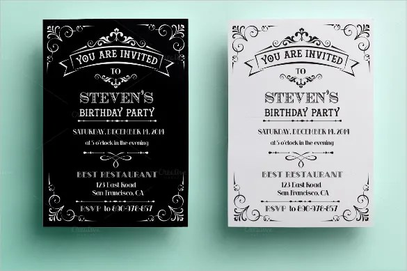 21+ Birthday Invitation Templates u2013 Free Sample, Example, Format - free download invitation templates