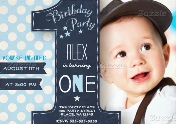 21+ Birthday Invitation Templates u2013 Free Sample, Example, Format - free first birthday invitation template