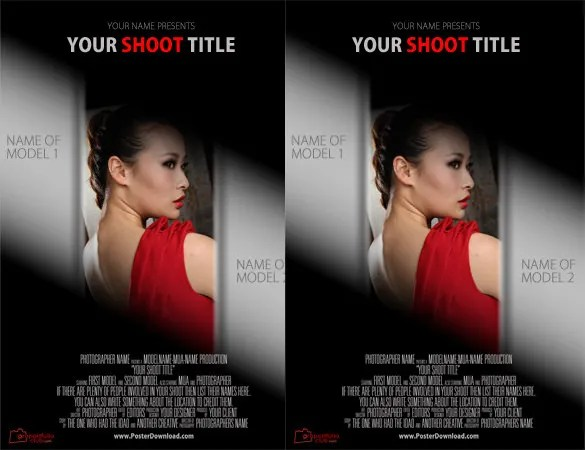 Movie Poster Templates - 26+ Free PSD Format Download Free