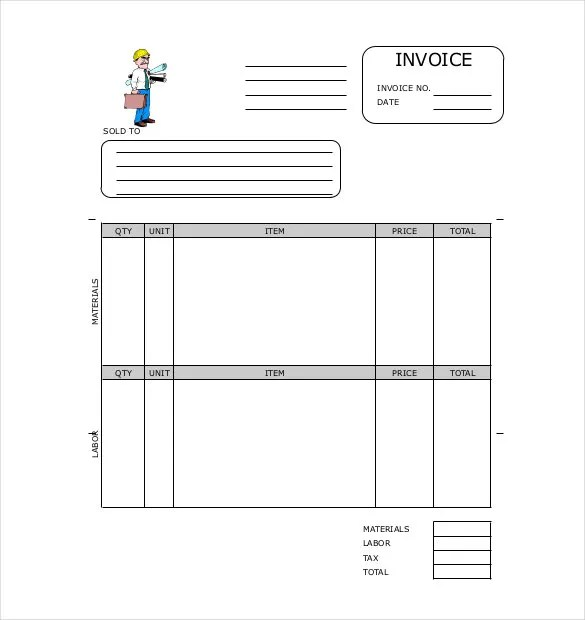 Invoice Format Template - 50+ Free Word, PDF Documents Download
