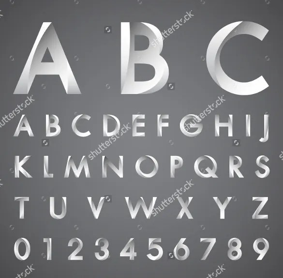 13+ Cool Alphabet Letters Template - Free PSD, EPS, Format Download