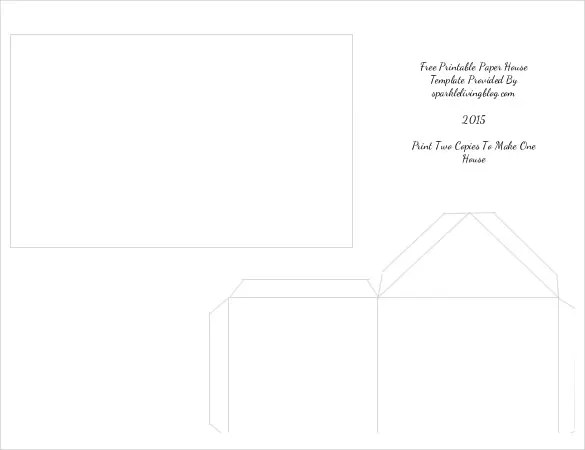 Simple Paper Box Template Box Template Free Box Templates