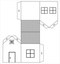 Paper House Template  19+ Free PDF Documents Download ...