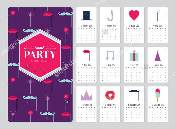 21+ Birthday Calendar Templates - Free Sample, Example, Format - birthday calendar template