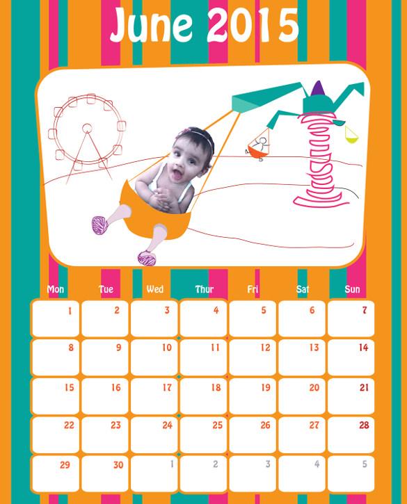 21+ Birthday Calendar Templates - Free Sample, Example, Format