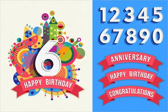 23+ Birthday Poster Templates \u2013 Free Sample, Example, Format