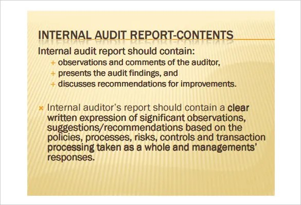 audit recommendation letter sample - Leonescapers - auditing report format