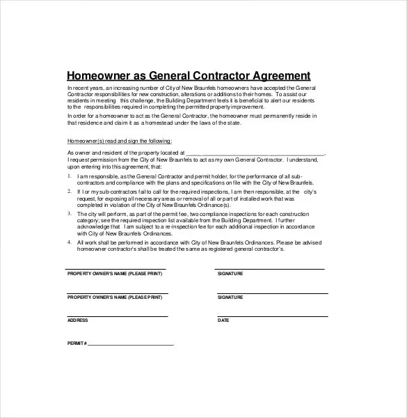 contractors contract template - Onwebioinnovate - contractor contract template