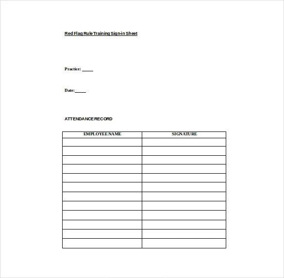 sample training sign in sheet | node2002-cvresume.paasprovider.com