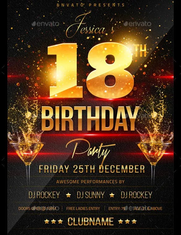 26+ Birthday Flyer Templates - Sample, Example, Format Download