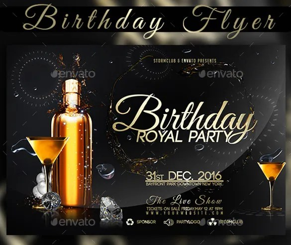 34+ Birthday Flyer Templates - Word, PSD, AI, InDesign Free