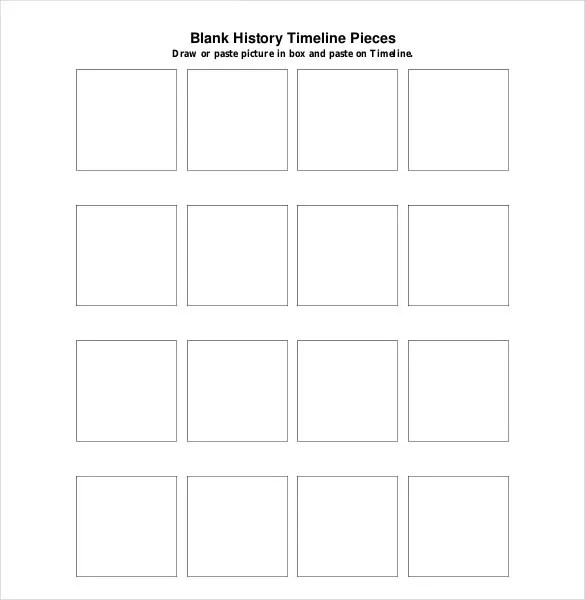 Doc#600600 Sample Blank Timeline Template u2013 Sample Blank - sample historical timeline