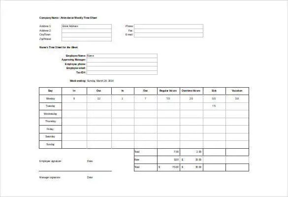 Job Sheet Templates - 21+ Free Word, Excel, PDF Documents Download - excel job sheet template