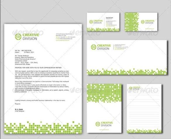 PSD Letterhead Template \u2013 51+ Free PSD Format Download! Free