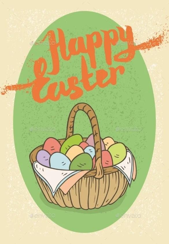 Sample Easter Postcard Template easter card template - 29+ free - sample easter postcard template