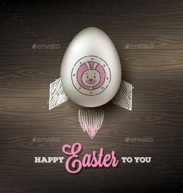 Easter Greeting Cards Template \u2013 20+ Free PSD, EPS, Format Download