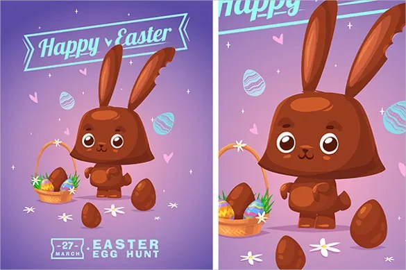 Easter Greeting Cards Template u2013 20+ Free PSD, EPS, Format - easter greeting card template