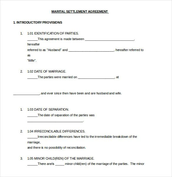 Settlement Agreement Template -13+ Free Word, PDF Document - settlement agreement template