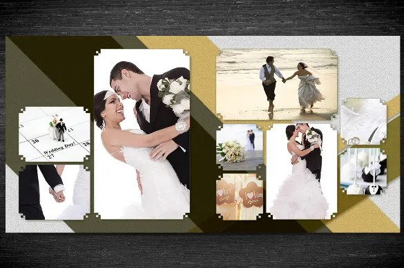 wedding photo album templates in photoshop - Ukransoochi