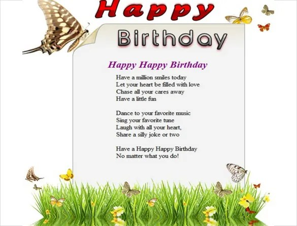 11+ Birthday Email Templates - Free Sample, Example, Format Download