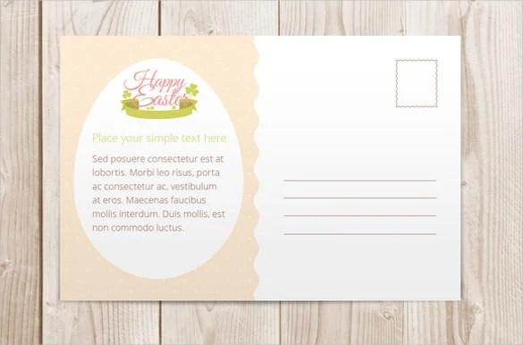 16+ Easter Postcard Templates \u2013 Free Sample, Example, Format