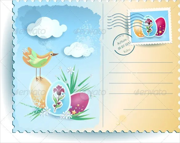 16+ Easter Postcard Templates \u2013 Free Sample, Example, Format