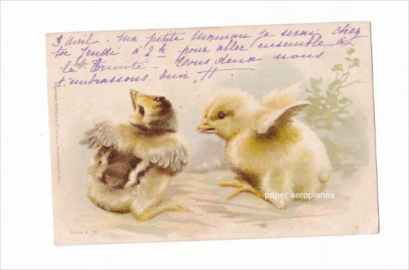 16+ Easter Postcard Templates u2013 Free Sample, Example, Format - sample easter postcard template