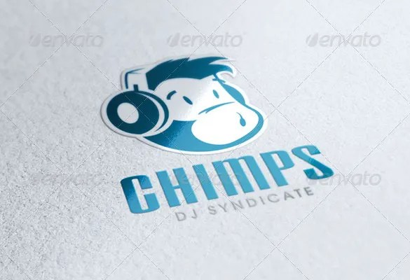 DJ Logo Template \u2013 41+ Free PSD, EPS, Vector, AI, Illustrator Format
