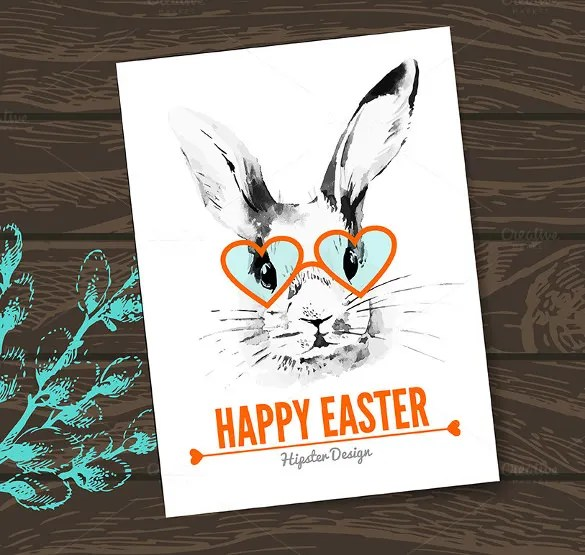 16+ Easter Greeting Cards \u2013 Free Sample, Example, Format Download - easter greeting card template