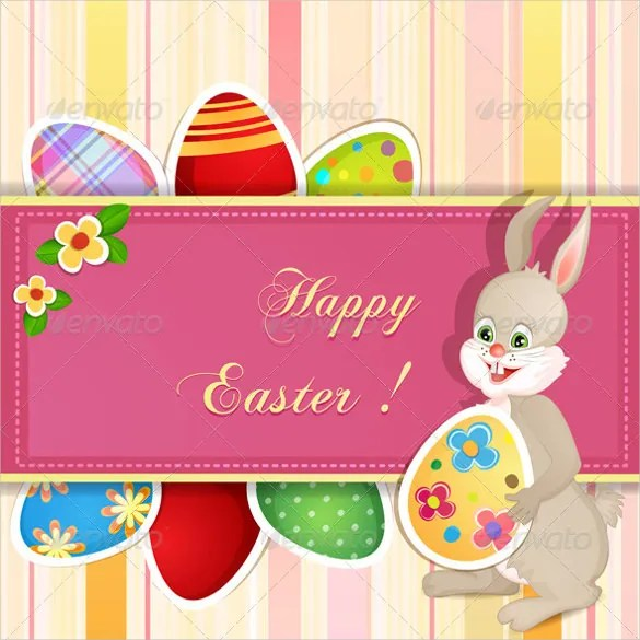 16+ Easter Greeting Cards u2013 Free Sample, Example, Format Download - easter greeting card template