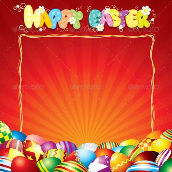 Easter Card Template - 29+ Free Printable PDF, JPG, PSD, EPS Format
