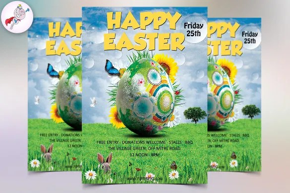 31+ Easter Flyer Templates \u2013 Free Sample, Example, Format Download - easter flyer template