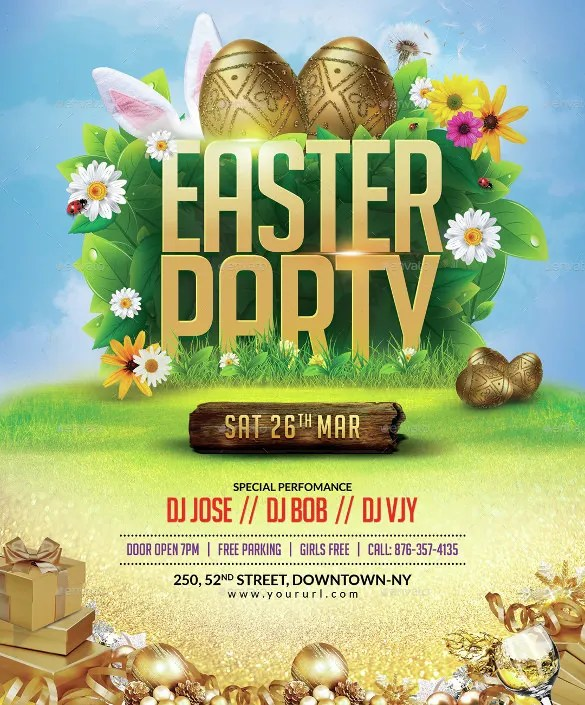 33+ Easter Flyer Templates - Free Sample, Example, Format Download