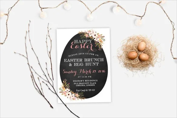 Easter Invitation Template \u2013 31+ PSD, EPS Format Download Free - easter invitations template