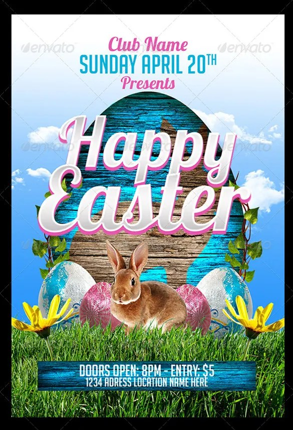 easter party flyer template - Timiznceptzmusic